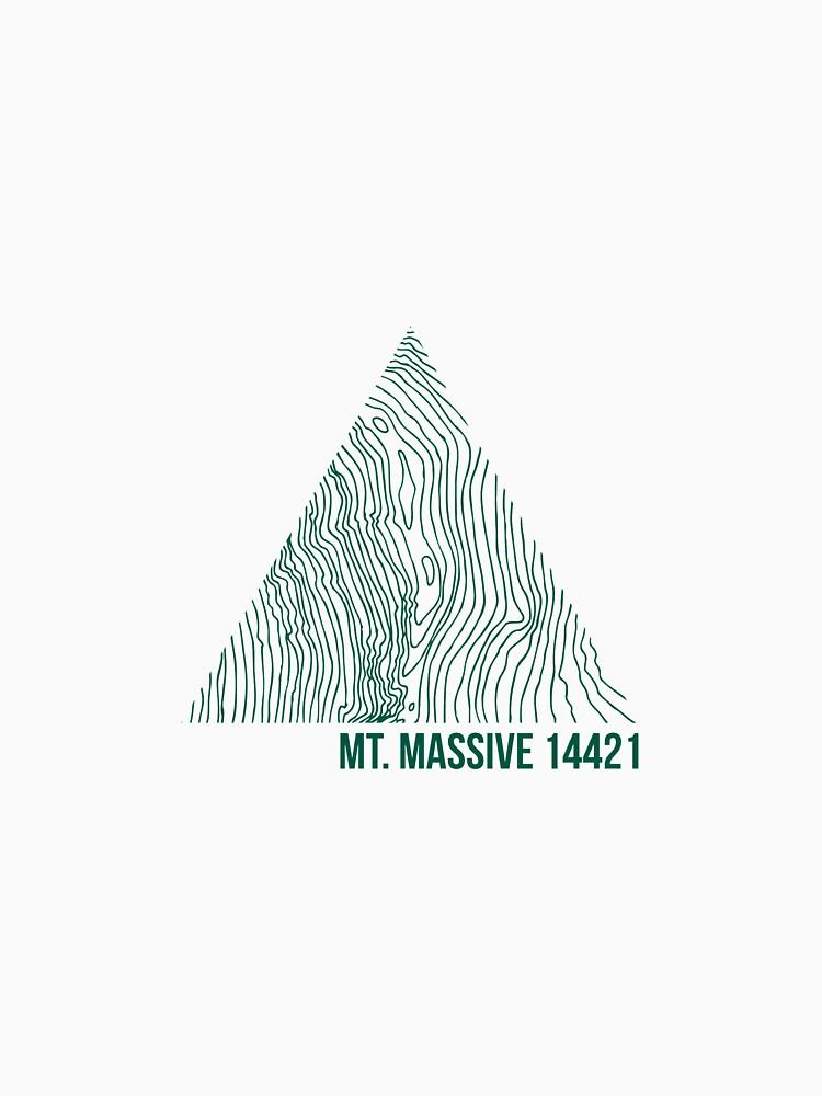 Mount Massiver Topo von januarybegan