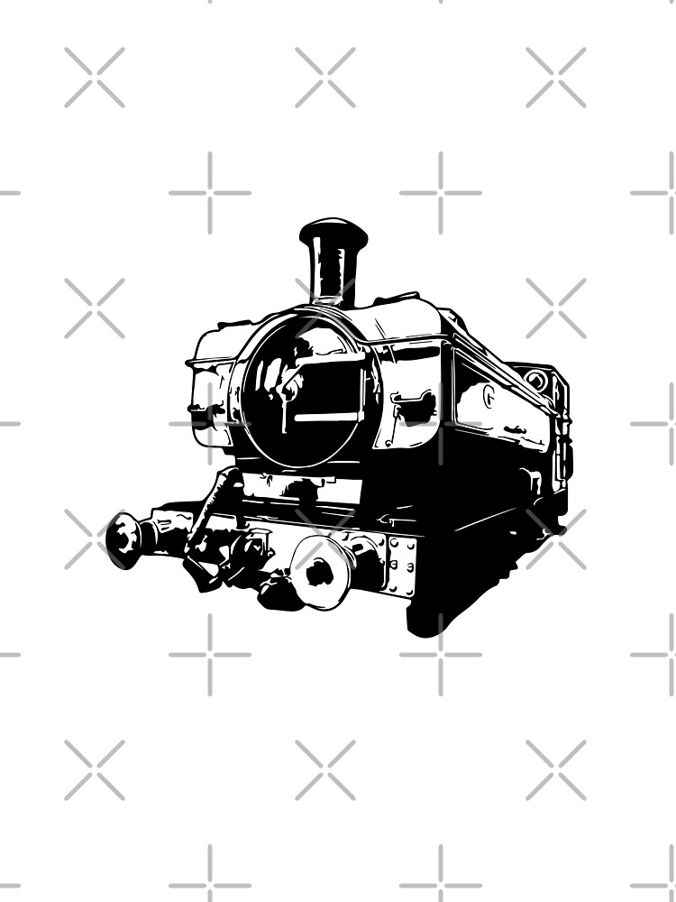 Classic 0-6-0 GWR 5700 Class Steam Train by tribbledesign