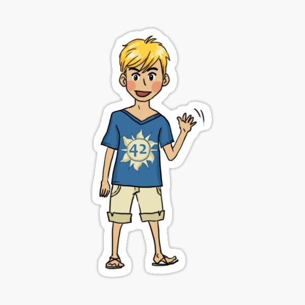 Python character Sticker