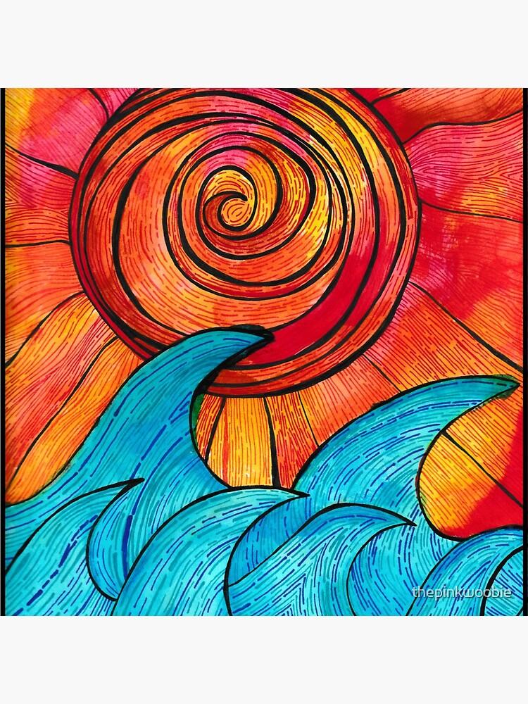 Sun Waves Summer Love by thepinkwoobie