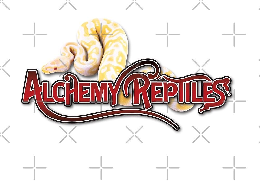 Alchemy Reptiles Logo by Nina Bolen