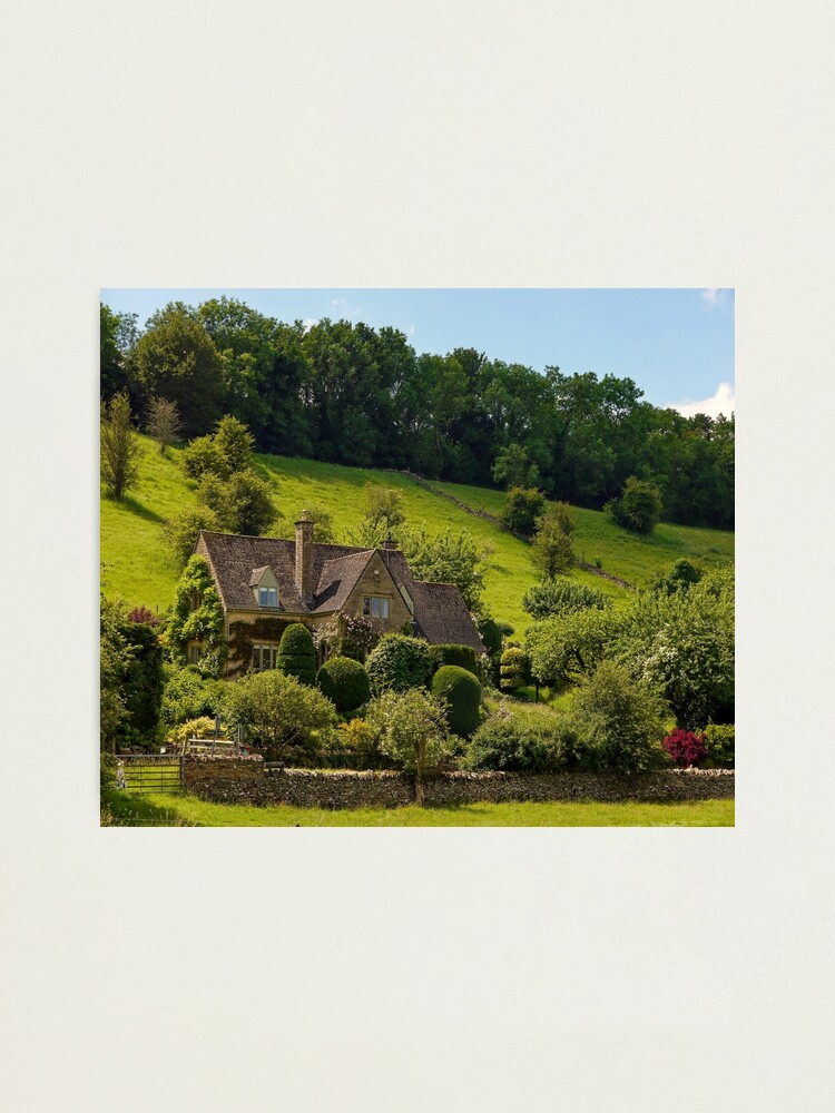 Alternate view of Cotswold Summer Photographic Print