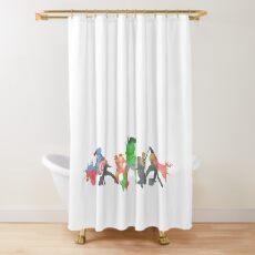 Superheros Shower Curtain