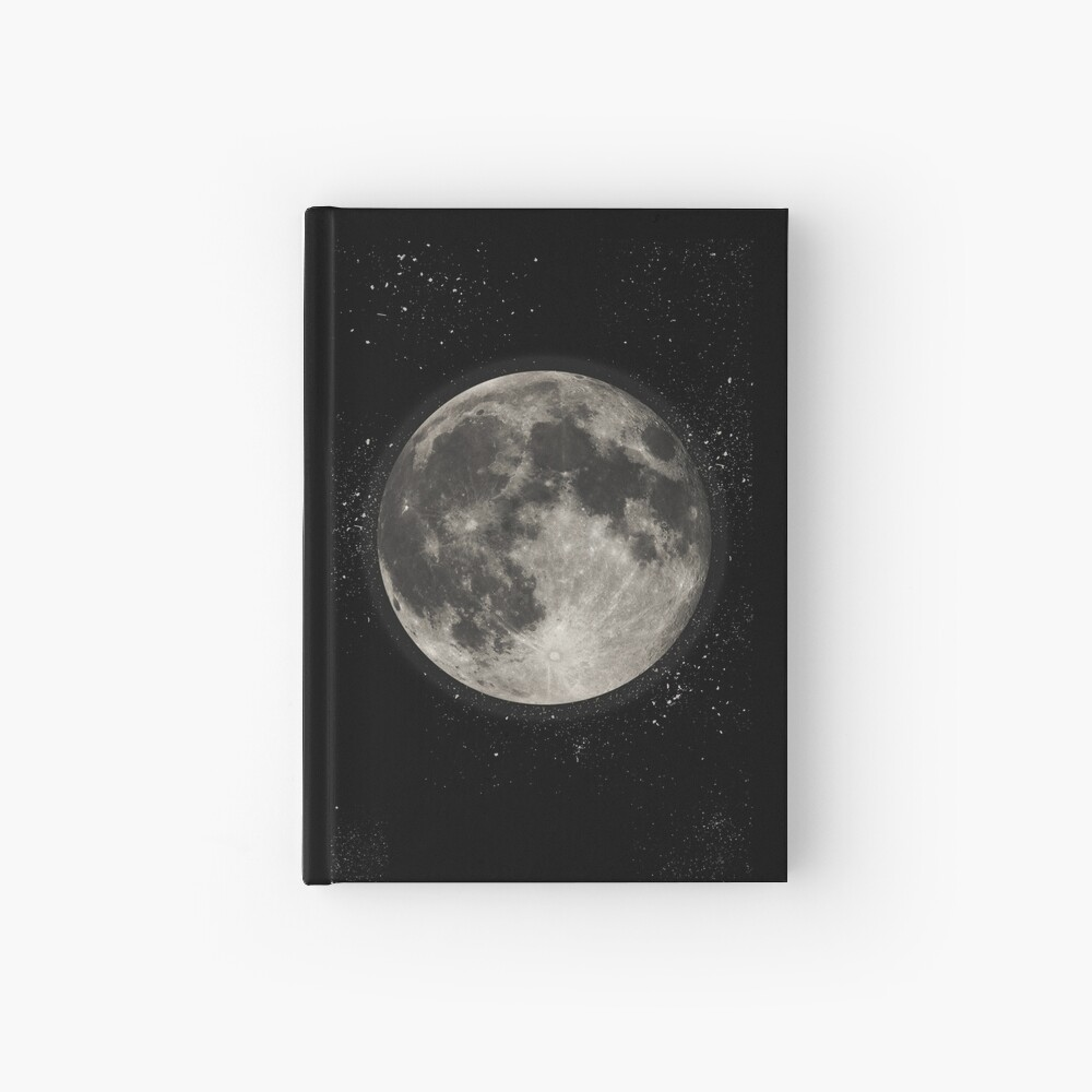 Moon   Hardcover Journal