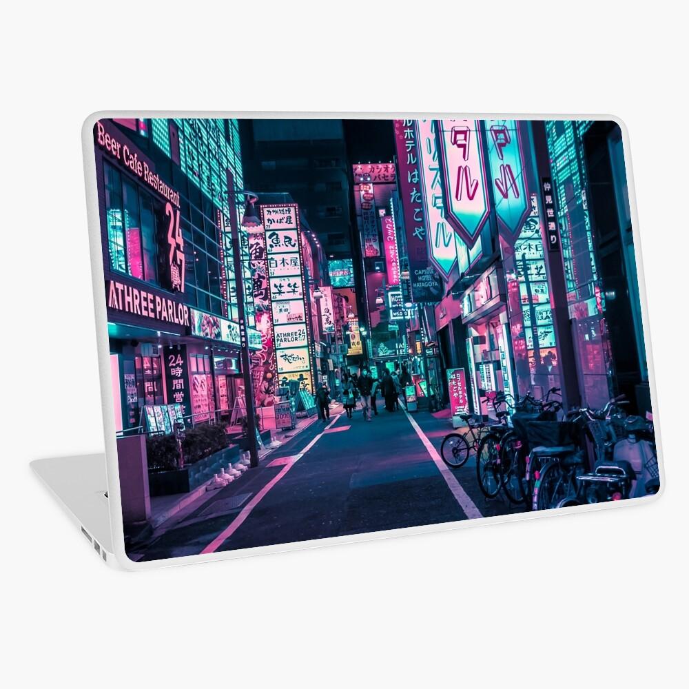 Tokyo - A Neon Wonderland Laptop Skin