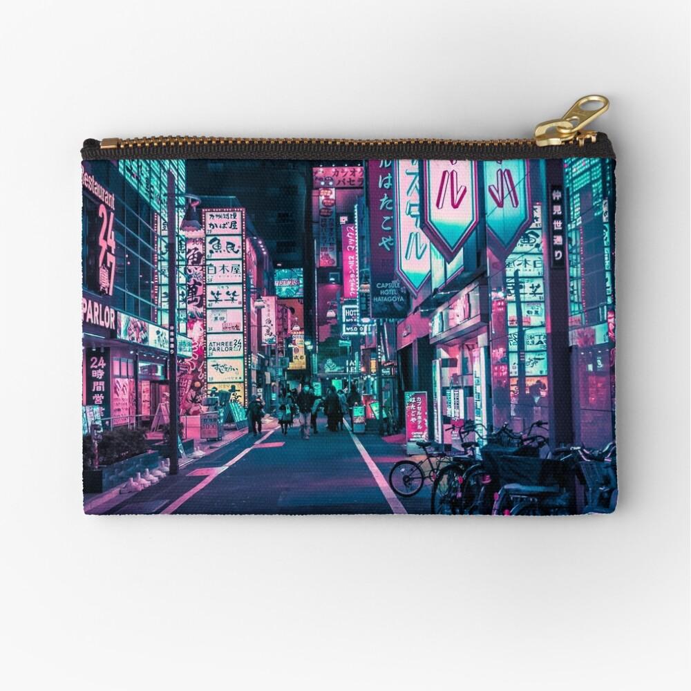 Tokyo - A Neon Wonderland Zipper Pouch