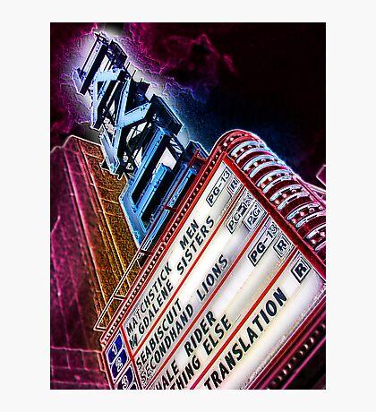 lake theater, oak park, IL Photographic Print