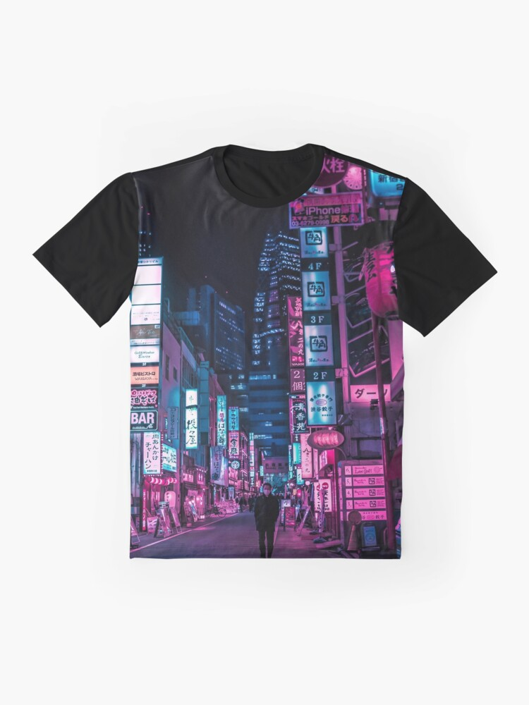Alternate view of Stranger In The Night Graphic T-Shirt