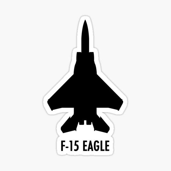 F-15 Eagle Sticker