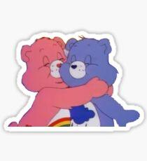 huggin carebears Sticker