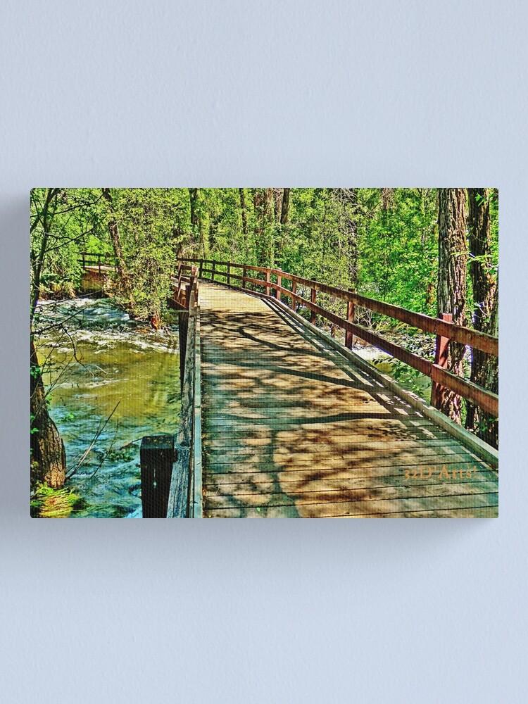 Alternate view of Roaring Fork River, Aspen 3 Canvas Print