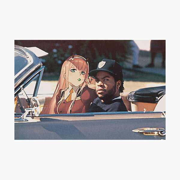 Driving with my Darling Photographic Print