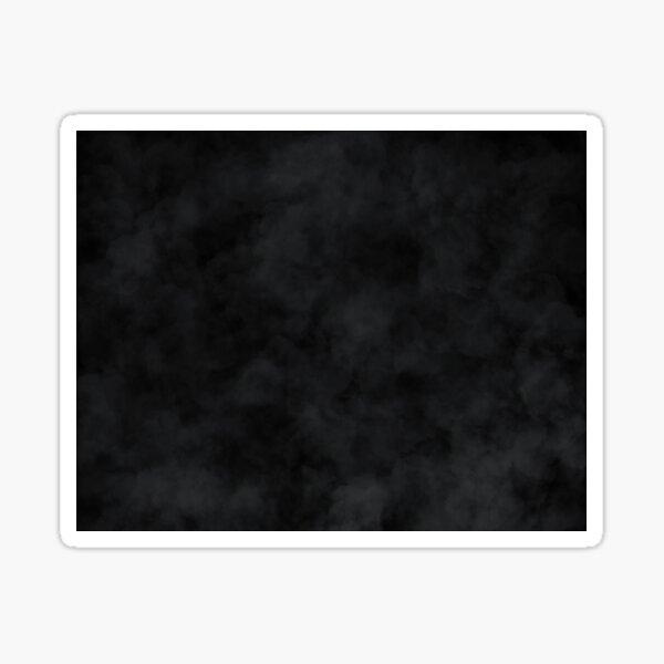 Wolken auf schwarzem Hintergrund  Sticker