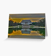 Lincoln Memorial, Washington D.C. Greeting Card