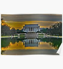 Lincoln Memorial, Washington D.C. Poster
