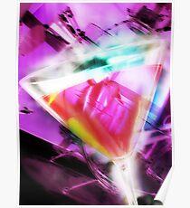 violet martini Poster
