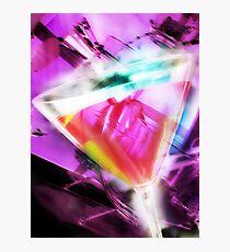 violet martini Photographic Print