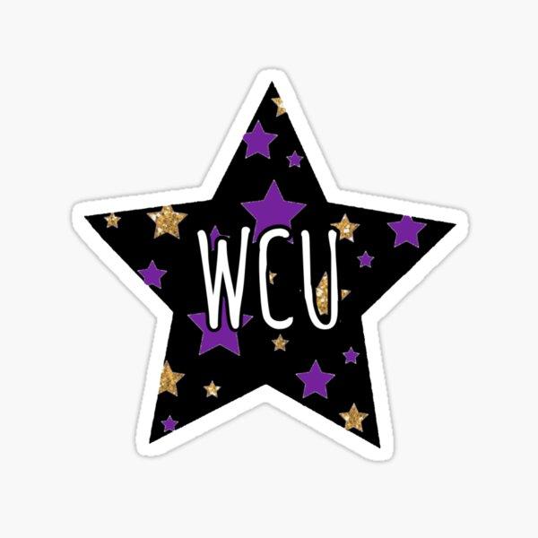 WCU Sticker