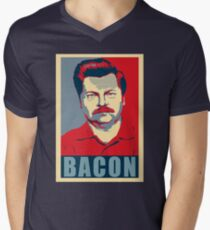 Ron hope swanson  Men's V-Neck T-Shirt