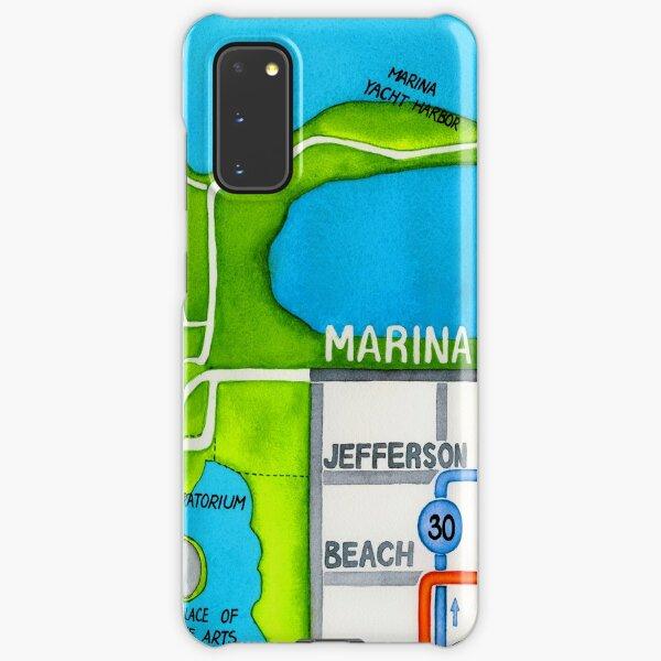 San Francisco map - Marina Samsung Galaxy Snap Case