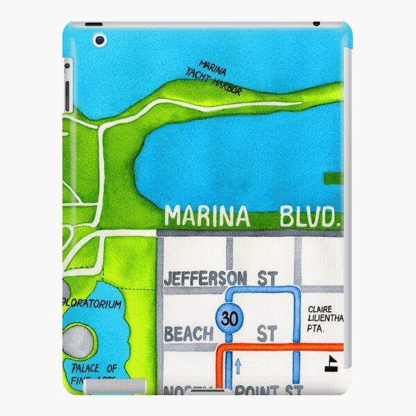 San Francisco map - Marina iPad Snap Case