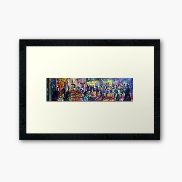 Agnes Tavern - Jam session Framed Art Print