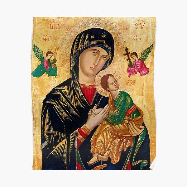 Notre-Dame du Perpétuel Secours Poster