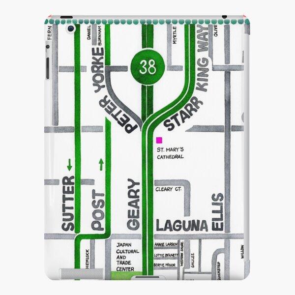 San Francisco map - Cathedral Hill / Japantown iPad Snap Case
