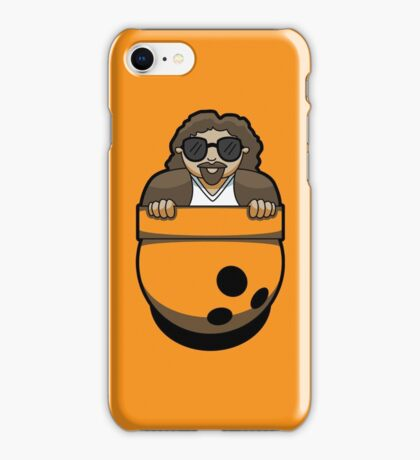 Pocket Dude (02) iPhone Case/Skin