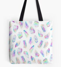 Aura Polygons Tote Bag