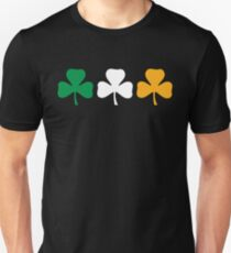 Ireland Shamrock Flag Unisex T-Shirt