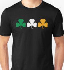 Camiseta unisex Bandera del trébol de Irlanda