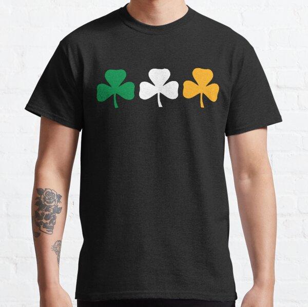 Ireland Shamrock Flag Classic T-Shirt