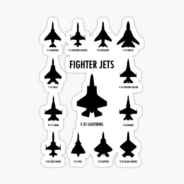 Fighter Jets Sticker