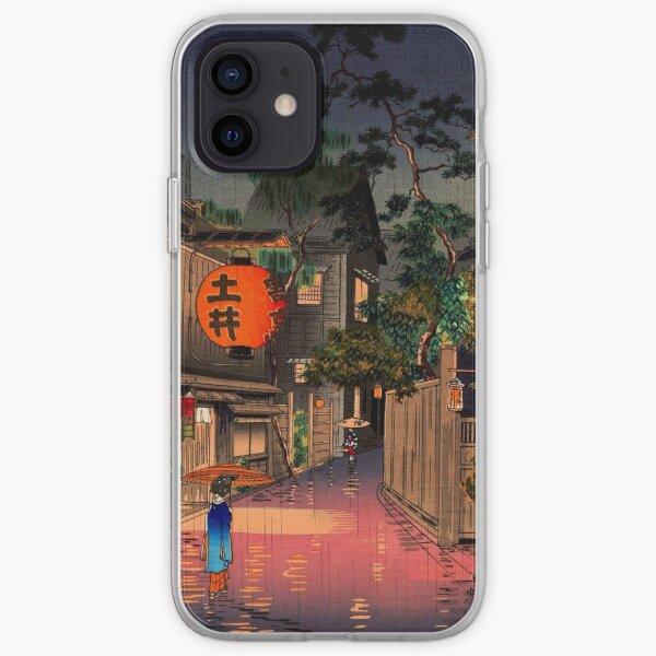 Evening At Ushigome By Tsuchiya Koitsu  iPhone Soft Case