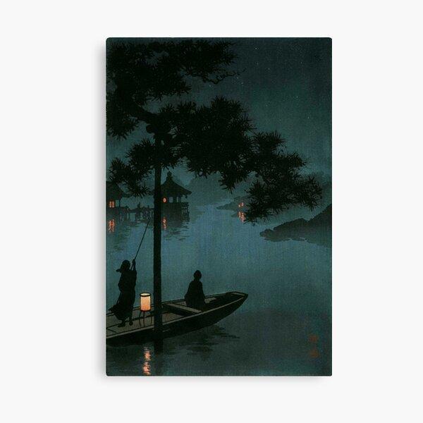 Lake Biwa By Koho Shoda Canvas Print