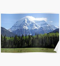 Mt Robson British Columbia Canada  Poster