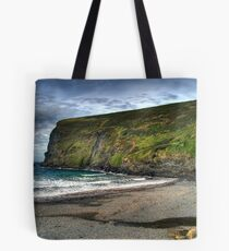 The Cliffs at Crackington Haven Tote Bag