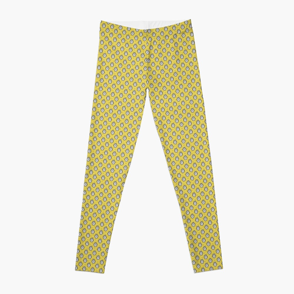 Queen Bee | Vintage Honey Bees | Honeycomb Patterns |  Leggings