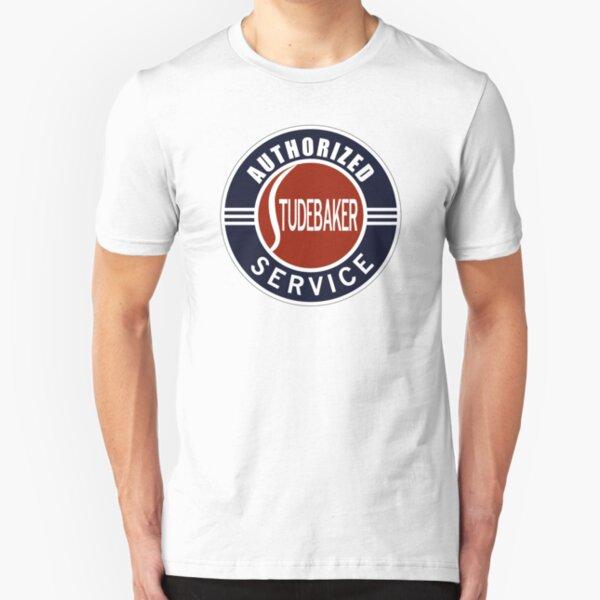 Authorized Studebaker Service vintage sign Slim Fit T-Shirt