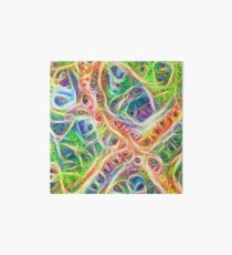 Neural network motif Art Board Print