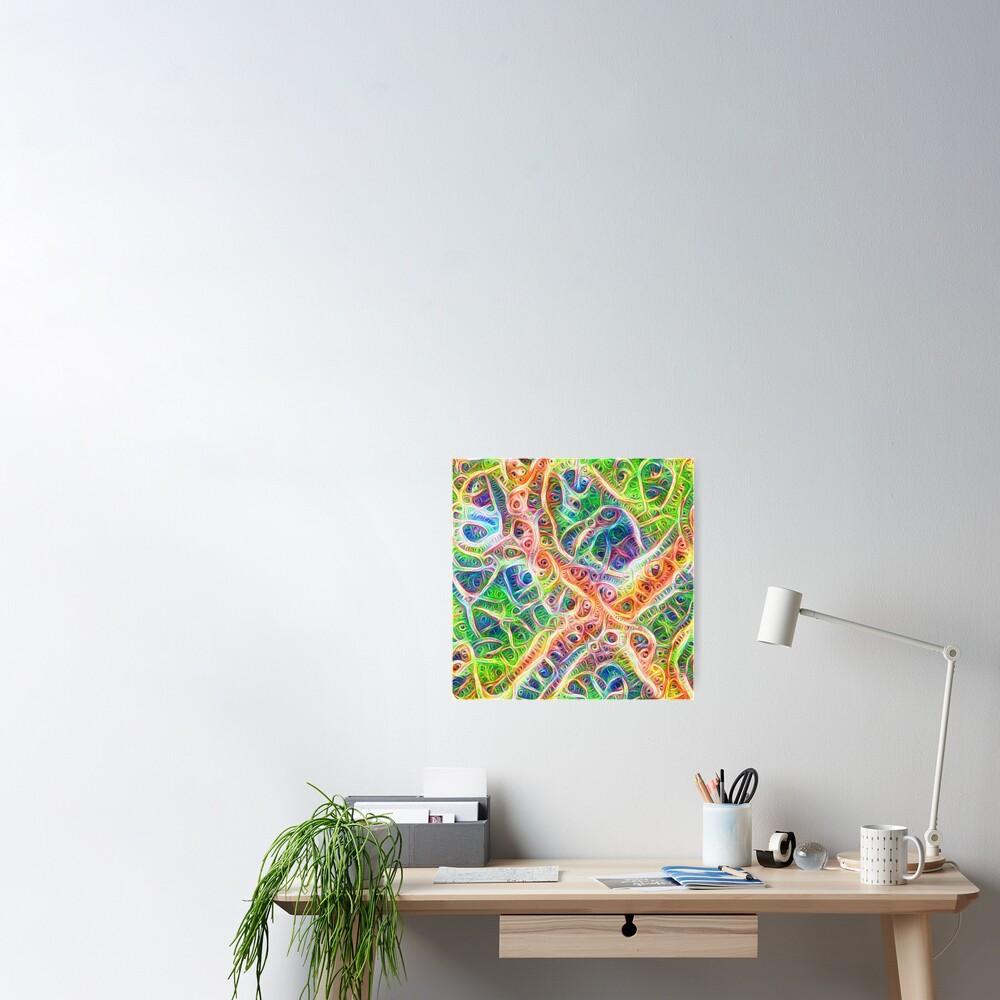 Neural network motif Poster