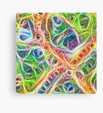 Neural network motif Canvas Print