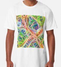 Neural network motif Long T-Shirt