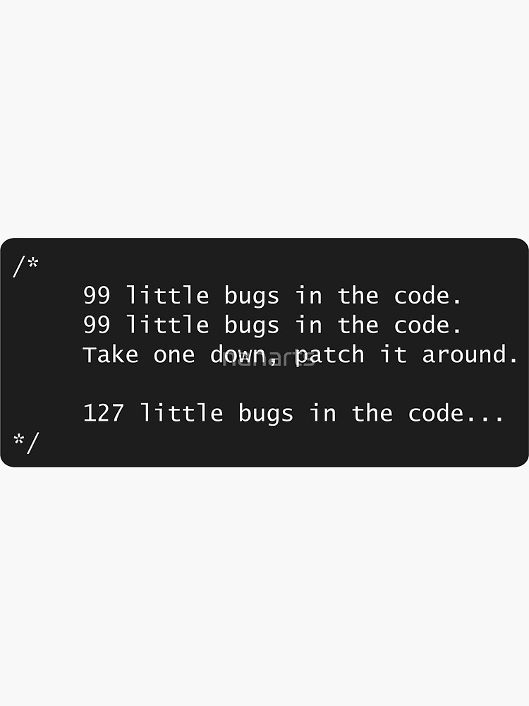Programmer & Bugs by nanarts