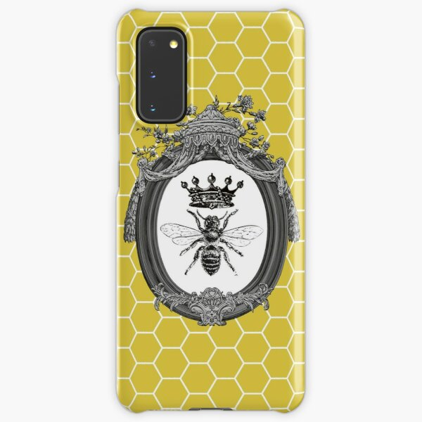 Queen Bee | Vintage Honey Bees | Honeycomb Patterns |  Samsung Galaxy Snap Case