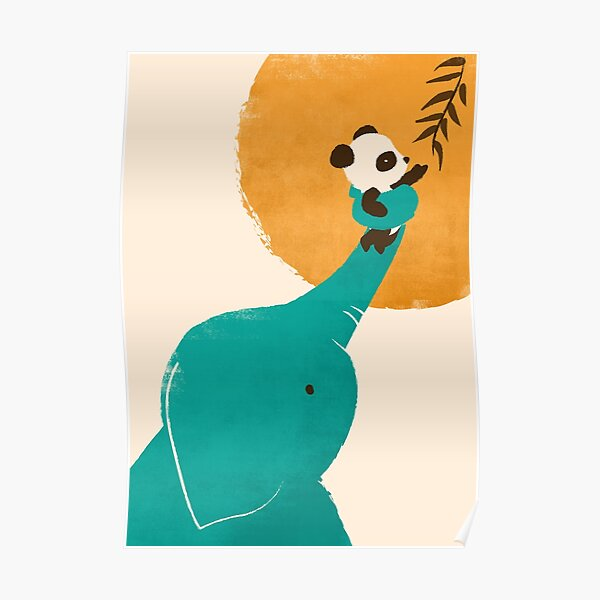 Panda's Little Helper Poster