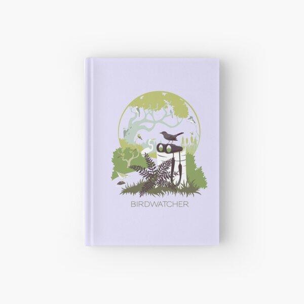 Birdwatcher (greens) Hardcover Journal