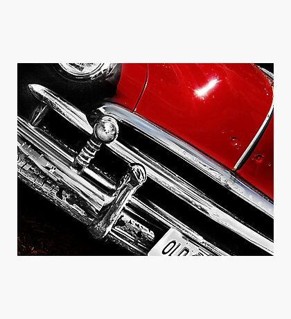 red car Photographic Print