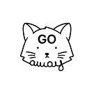 Go Away - White by tobiasfonseca